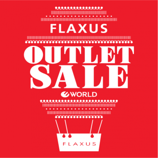 "Under ""FLAXUS"" outlet sale holding!"