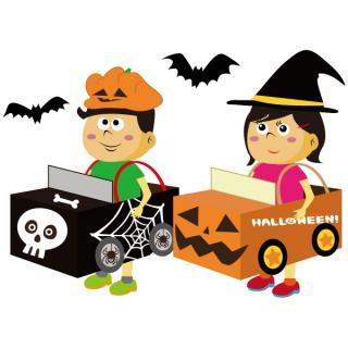 [Halloween Party 2014] close Halloween! Let's make parade car!