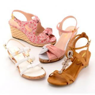 Feminine Cafe summer shoes collection